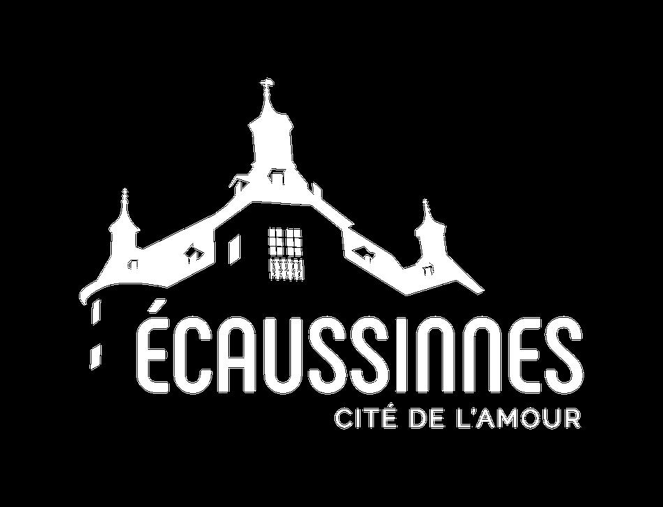 ecaussinnes logo transparent negatif