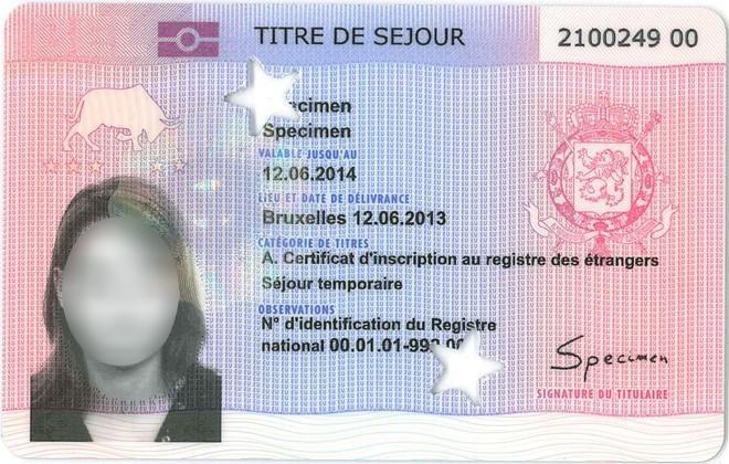 carte biometrique etranger
